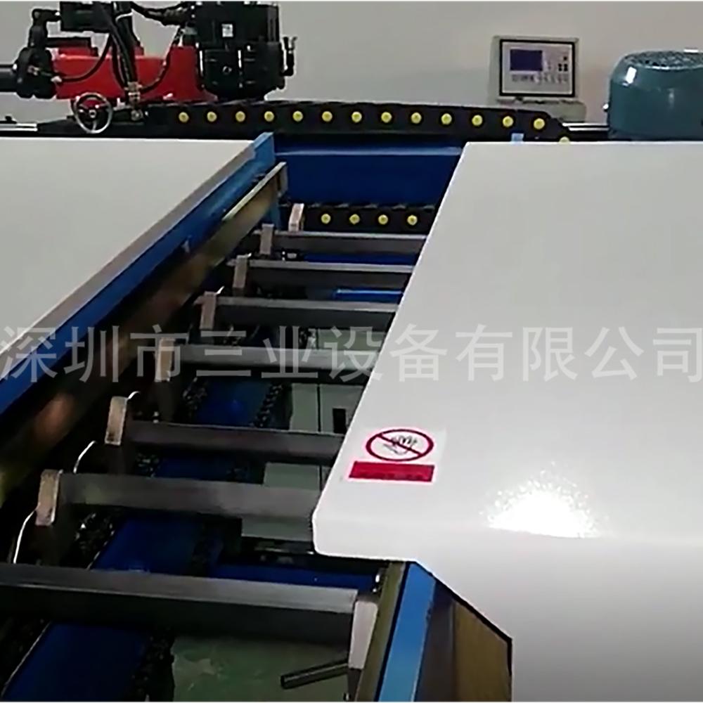 铝管管口打磨机